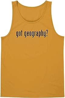 The Town Butler got Geography? - A Soft & Comfortable Unisex Men's & Women's Tank Top