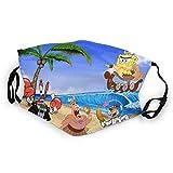 Desing shop Capitán Bob Esponja reutilizable máscara para niños y niñas, pasamontañas sombrero, lavable al aire libre boca cubierta moda