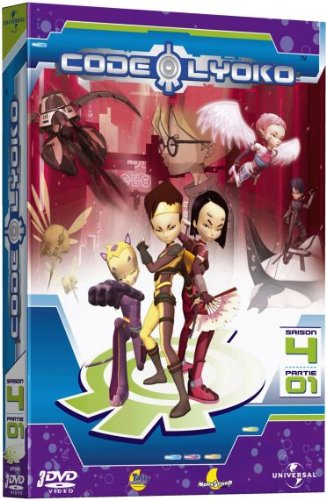 Code Lyoko - Saison 4 - Partie 01 [Francia] [DVD]
