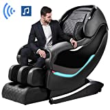 Massage Chair by OOTORI,3D SL-Track Thai Yoga Stretching Zero Gravity Massage Chair,Full Body Shiatsu Massage Chairs Recliner with Tapping, Heating and Foot Roller Massager (Black).