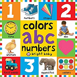 Big Board Books Colors, ABC, Numbers (First 100) by [Roger Priddy]