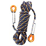 Heritan Cuerda de Escalada de áRbol de 5 M y 8 Mm de Espesor, Cuerda de Senderismo de Seguridad para Exteriores, Cuerda de Seguridad de Alta Resistencia, Cuerda de Rappel