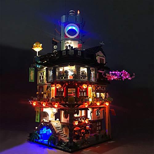 Led Beleuchtungsset Für NINJAGO City, Kompatibel Mit Lego 70620 Bausteinen Modell (Modell Nicht Enthalten)