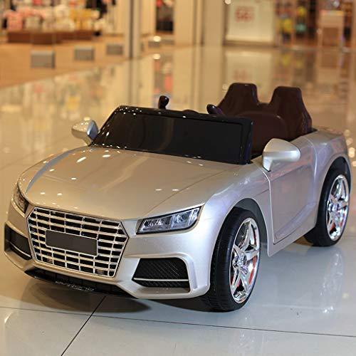 Gjliwu 4WD elektrische auto batterij afstandsbediening auto 4-6 jaar oud kan een vierwielige simulatieauto nemen