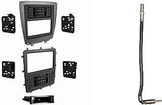 Metra 99-5839CH Aftermarket Radio Installation Dash Kit & 40-CR10 Chrysler/Dodge/Jeep/Ford/GM 2002-Up Car Antenna Adapter