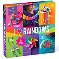 Craft-tastic I Love Rainbows Craft Kit Make 6 Colorful Arts & Crafts Projects
