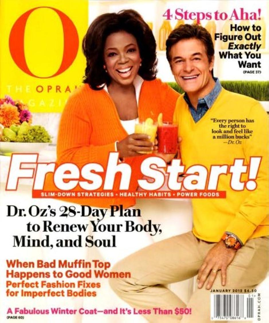不安定な二度コートO, The Oprah Magazine [US] January 2012 (単号)
