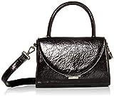 Steve Madden womens Steve Madden TRENDY Crossbody Bag, Black, 7.5 L x 3.5 D 5.5 H US