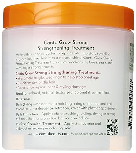 Cantu Grow Strong Strengthening Treatment, 6.1 oz (Pack of 7)