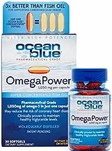 Ocean Blue Professional OmegaPower - 30 Count (2 Pack) - Omega 3-1050mg EFA