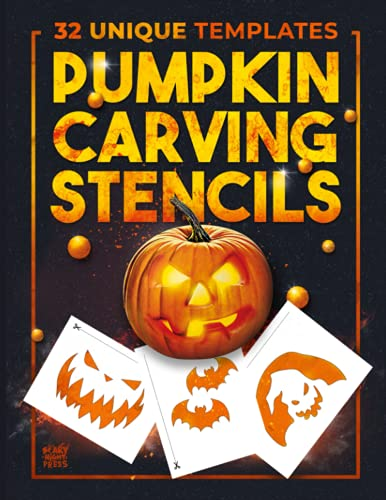 Compare Textbook Prices for Pumpkin Carving Stencils: 32 Templates For Making Halloween Pumpkins / Funny Patterns Stencils For Kids And Adults  ISBN 9798540796378 by Press, Scary  Night