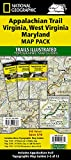 Appalachian Trail: Virginia, West Virginia, Maryland [Map Pack Bundle] (National Geographic Trails Illustrated Map)