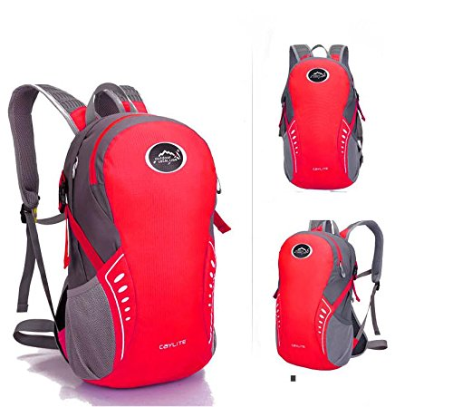 Extérieur élégant portable sac à dos sac à dos sac à dos de vélo , red