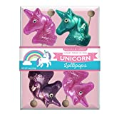 Melville Candy Glitter Unicorn Lollipop Assorted Pack