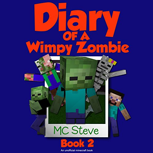 Diary of a Wimpy Zombie, Book 2 audiobook cover art