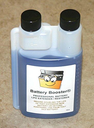 Battery Booster desulfator rejuvenator Conditioner additive 16oz (16)