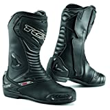 TCX Bottes Moto S Sportour Evo Waterproof, Noir, Taille 45