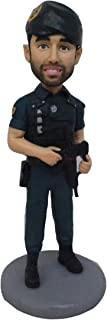 soldato con pistola di argilla bambole regali in miniatura per fidanzato regalo di san valentino sorpresa per armano Regal...