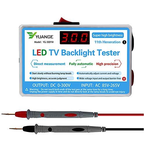 VISLONE Lámpara LED Probador de retroiluminación de TV Tiras de LED multiusos Herramienta de prueba de cuentas Instrumentos de medición para luz LED