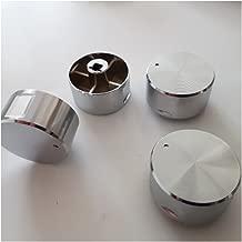 MeTer Star Knob Switch Gas Stove Switch Parts Round Gas Cooker Zinc Alloy Chrome Knob 4 PCS