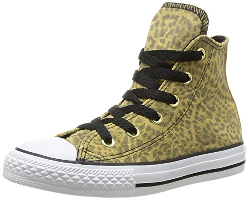 Converse Chuck Taylor All Star Animal Hi, Zapatillas para Niñas, Leopard, 38 EU