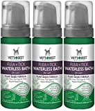 Vet's Best (3 Pack) Natural Flea and Tick Waterless Bath Foam for Cats, 5 oz