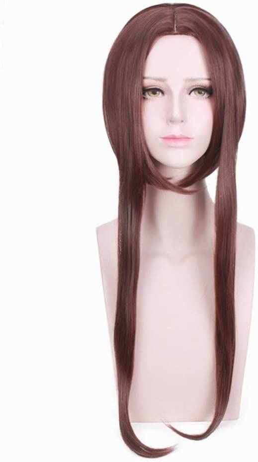 Udol Short Paragraph Carve Wig Max 72% OFF Dark Brown Hair Co Synthetic Baltimore Mall Long
