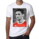 One in the City Hugo Lloris 1 T-Shirt,Cadeau,Homme,Blanc, S,t Shirt Homme