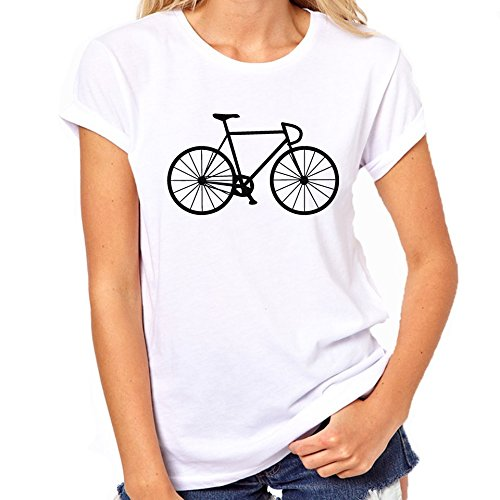 Fietsen Vintage racefiets T-Shirt Womens Classic T-Shirt