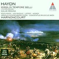 Haydn - Missa in tempore belli ~ Salve Regina / R枚schmann, von Magnus, Lippert, Widmer; Harnoncourt (1997-06-24)