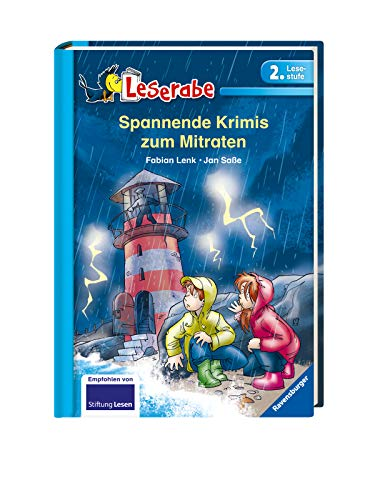 Spannende Krimis zum Mitraten - Leserabe 2. Klasse - Erstlesebuch für Kinder ab 7 Jahren (Leserabe - 2. Lesestufe)