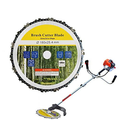 SHONCO Cabeza de corte de hierba,Cortador de cepillo,Cuchilla cortadora de jardín,Reemplazo de accesorio de cortador de cepillo