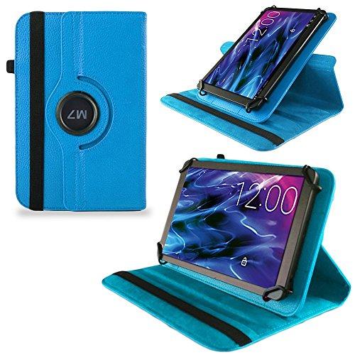 UC-Express Tasche Hülle Cover für Medion Lifetab S10321 Schutz Case Tablet Schutzhülle Bag, Farben:Türkis
