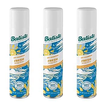 Batiste Shampoo Dry Fresh 6.73 Ounce  199ml   3 Pack