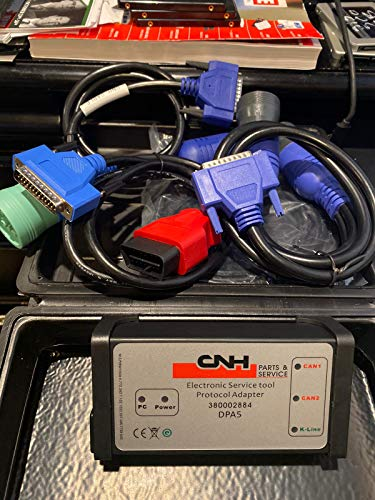 DPA 5 Diagnostic Kit 2020 Engine Electronic Service Tool Adapter for CNH New Holland Case IH - NO Software