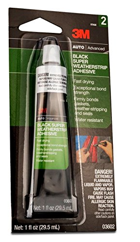 1oz 3M Black Super Weatherstrip Adhesive  $2.47 at Amazon