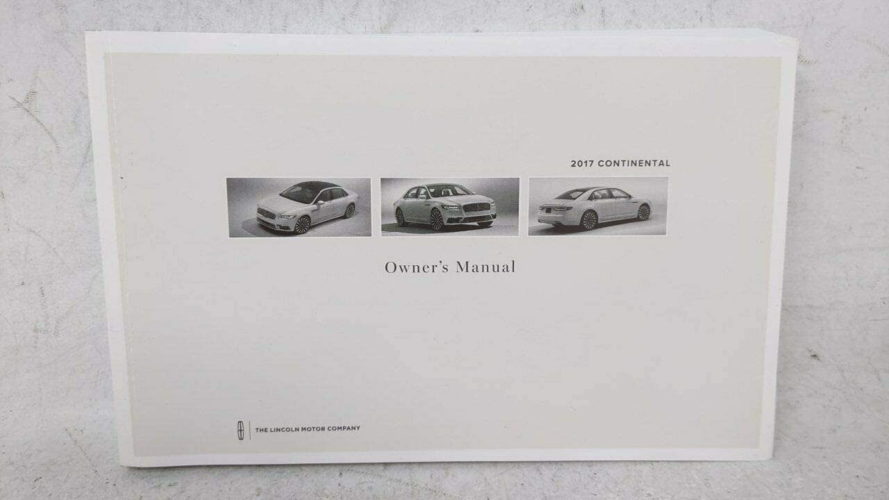 OEMUSEDAUTOPARTS1.COM 17 Continental Max 56% OFF Owners Super intense SALE 201 Manual Also Fits