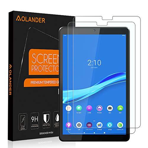 AOLANDER para Lenovo Tab M10 FHD Plus Cristal Templado Protector de Pantalla, 9H Dureza [Anti Arañazos] [Alta Definicion] [Sin Burbujas] Screen Protector【2 Pack/10.3 inch】