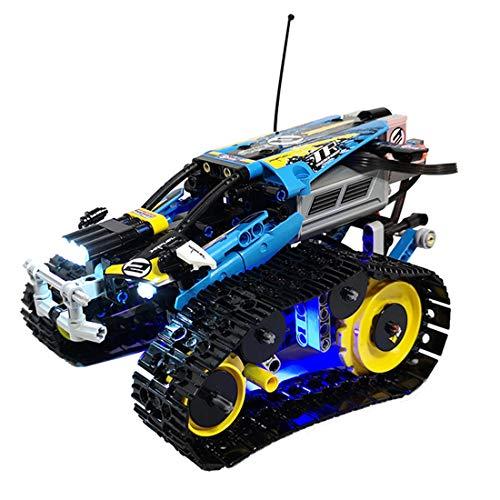 FADF Licht LED Beleuchtung Set für Lego Ferngesteuerter Stunt Racer 42095 - Nicht Enthalten Lego Modell