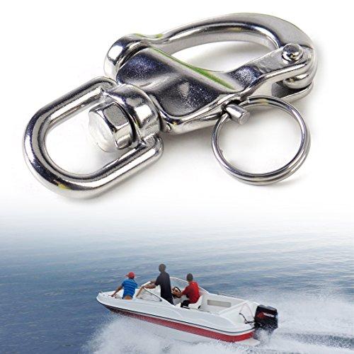 Wirbel schnapp schäkel Swivel Snap Shackle Yacht 70mm Hohe Härte Praktisch Neu