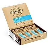 Sevenhills Wholefoods Barritas ricas en proteínas y superalimentos de cacahuete, maca y chía orgánicos 45g x 12
