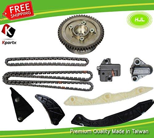 Kit de distribution Chaîne pour Sonata Tucson Optima Sportage 2.4L G4kc + Vvt Gear 06–13