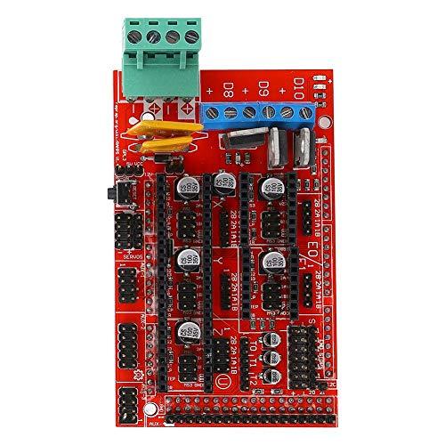 Scheda di controllo stampante con MEGA2560 e scheda di sviluppo controller stampante 3D RAMPS1.4 compatibile per 2004LCD o 12864LCD