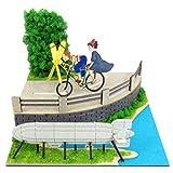 さんけい スタジオジブリmini 魔女の宅急便 トンボとプロペラ自転車 ノンスケール ペーパークラフト MP07-10