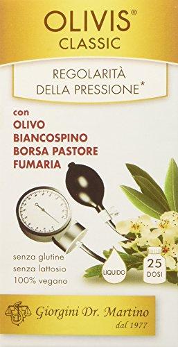 Dr. Giorgini Integratore Alimentare, Olivis Classic Liquido Alcoolico - 50 ml