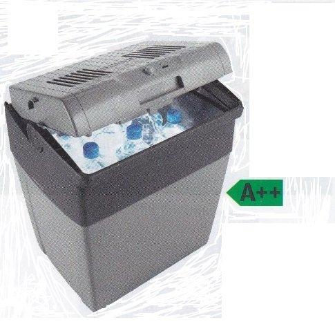 WAECO Thermoelektrische KÜHLBOX - STEHHÖHE für 2 Liter Flaschen - COOLFUN CX 30 - KÜHLLEISTUNG BIS 18 ° C unter Umgebungstemperatur - MIT ANSCHLUSSKABEL 12 VOLT - BETRIEB MIT STROM 12 / 230 Volt - Fassungsvermögen 29 Liter Inhalt - VERTRIEB durch - Holly ® Produkte STABIELO ® - holly-sunshade ® - patentierte Innovationen im Bereich mobiler universeller Sonnenschutz - Made in Germany -