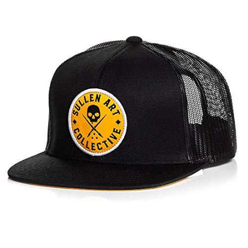 Sullen Men's Sol Trucker Snapback Hat Black