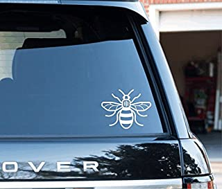 manchester bee car sticker