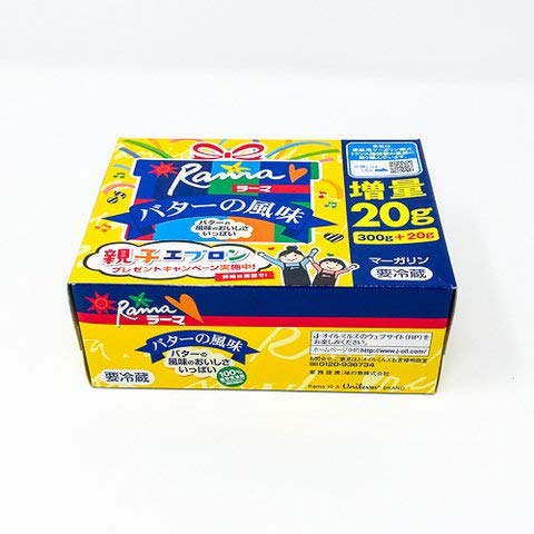 Jオイルミルズ ラーマ バターの風味 300g 【冷凍・冷蔵】 3個
