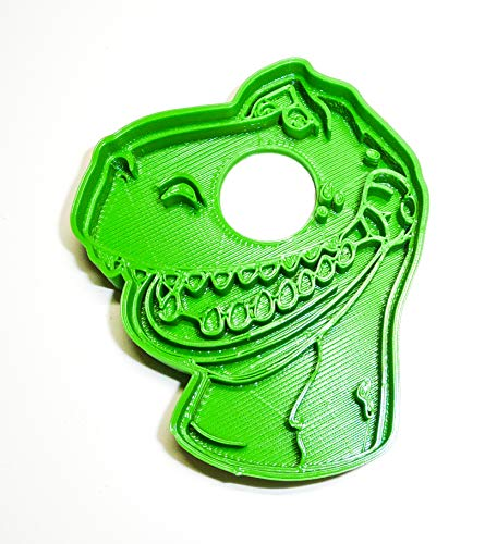 REX TOY STORY DINO CARTOON MOVIE CHARACTER SPECIAL OCCASION COOKIE CUTTER BAKING TOOL 3D PRINTED MADE IN USA PR468